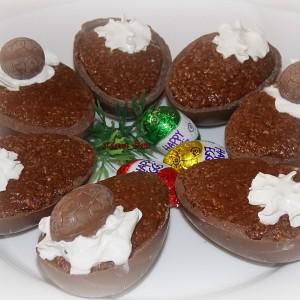 Полнети чоколадни јајца