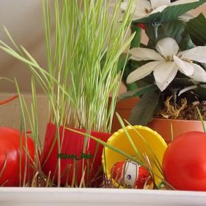Декорација-Велигденска трева