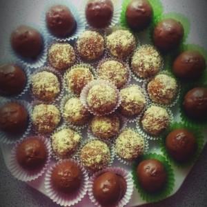 Чоколадни бомбици