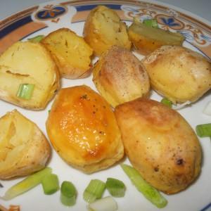 Невообичаен начин на печење компир