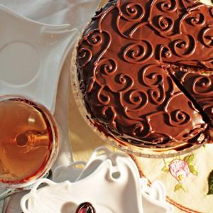 Торта со малинки