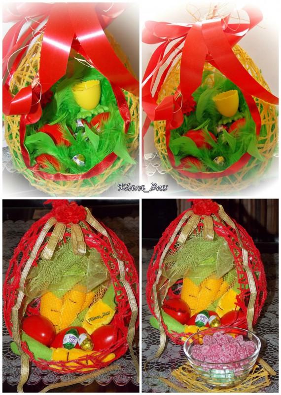 Велигденска декорација-Јајце од балон