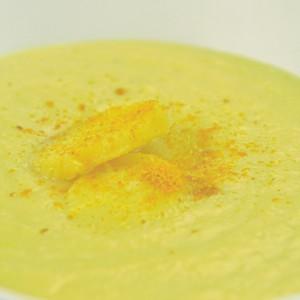 Видео рецепт: Супа од пашканат и кари (Посна)