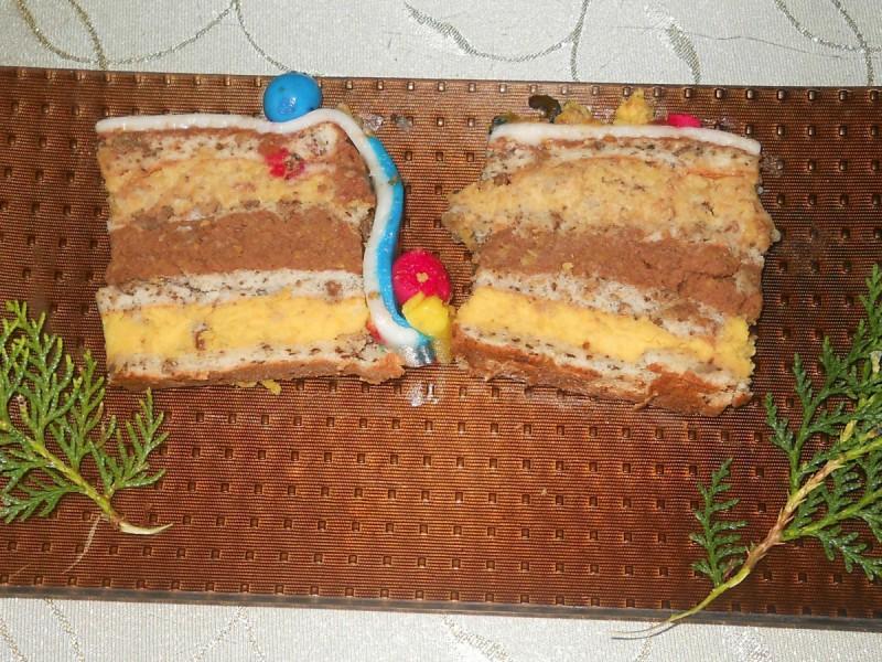 Торта со три фила