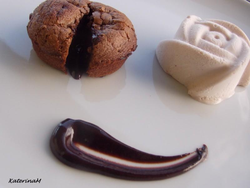 Сочни чоколадни тортици