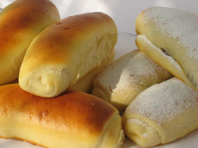 Млечни путер кифли