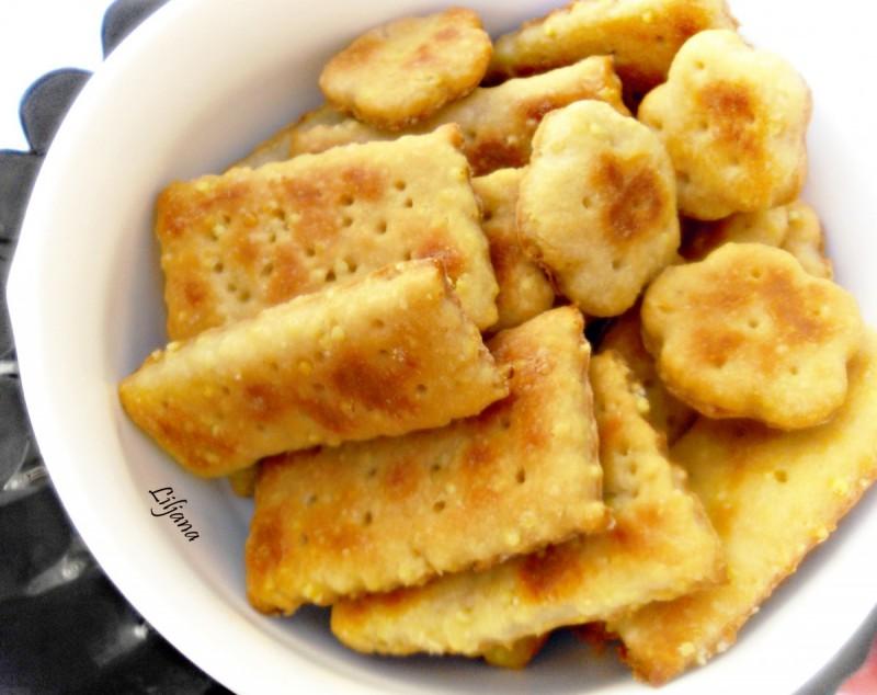 Крцкави крекери со просо