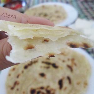 Лача Парата - лиснат индиски леб
