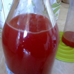 Јагодов сок за растворање