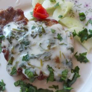 Месо во сос од магдонос