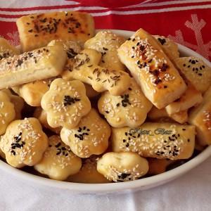 Крекери со фета сирење