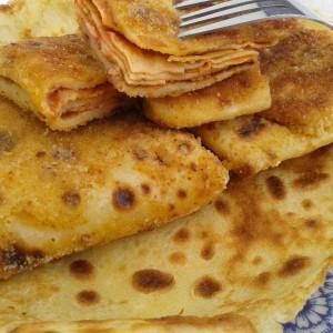 Солени пакетчиња од палачинки