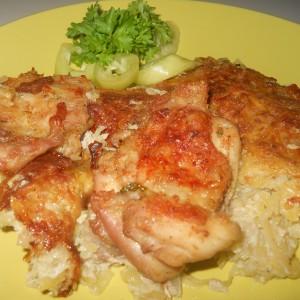 Пилешко со компир