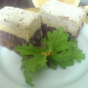 Триколоре торта (посно)