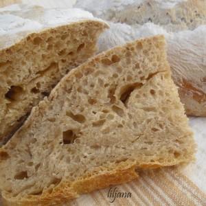 Ржан леб со квас
