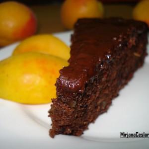 Чоколадна торта без јајца