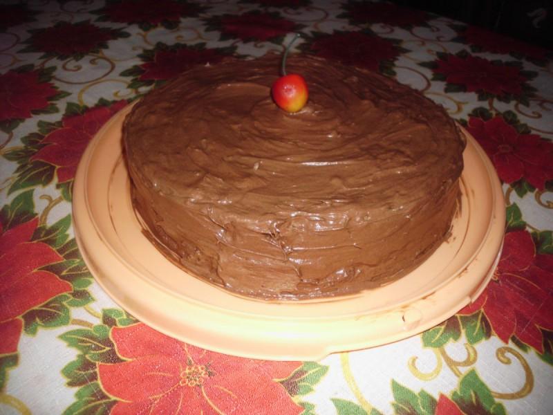 Чоколадна роденденска торта