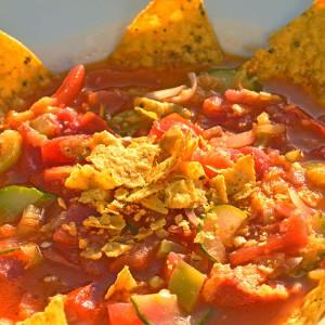 Видео рецепт: Мексиканска лута Начос супа