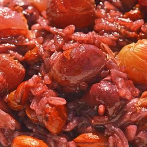 Видео рецепт: Рижото од печено грозје