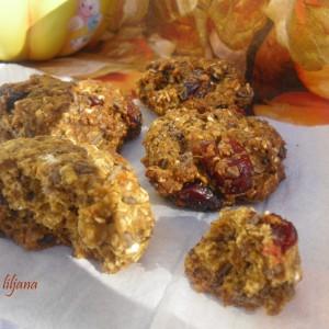 Овесни колачиња со тиква