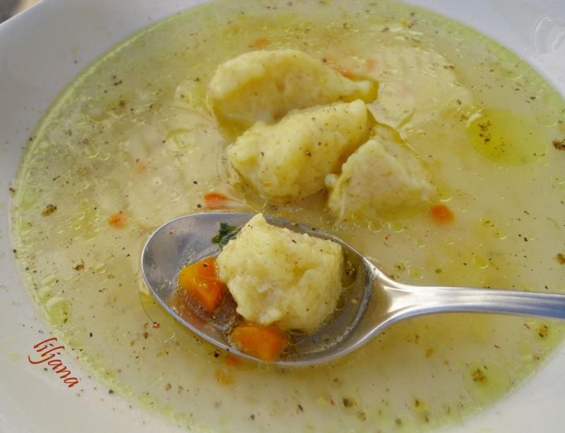 Кнедли за супа