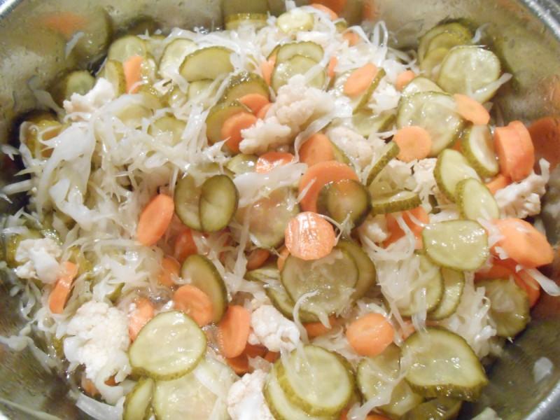 Руска салата (Зимска салата)