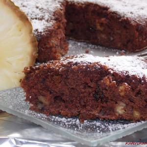 Посен колач со ананас