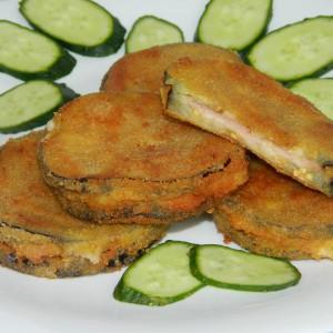 Сендвич од модар патлиџан