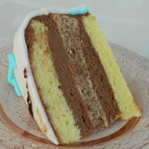 Гитара торта за роденден