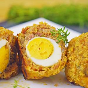 Видео рецепт: Ролат Шкотско јајце