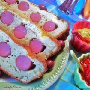Солена торта со виршли