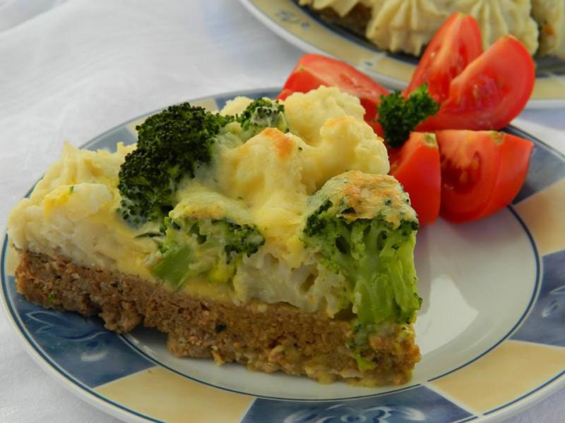 Торта од мелено месо