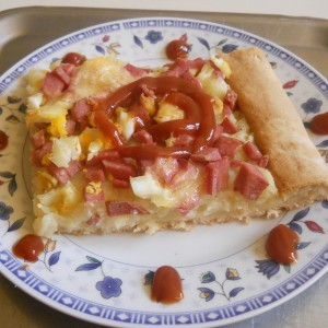 Пица пита со пире од компир