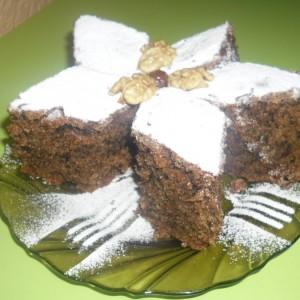 Посна ореова торта