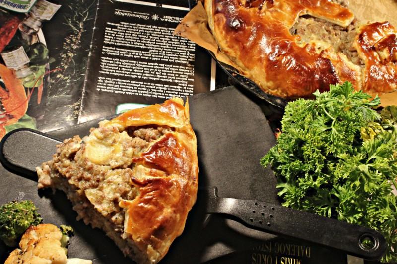 Француска пита со месо