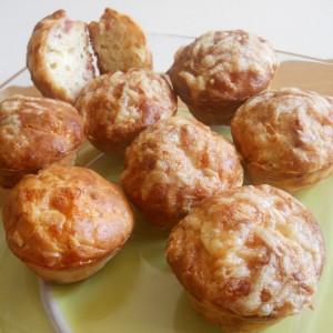 Солени мафини со јогурт и сода