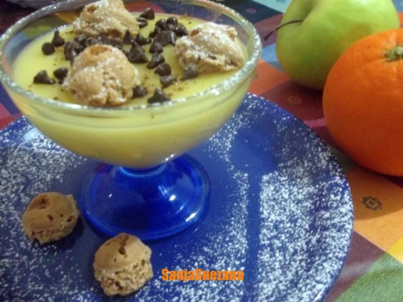 Витаминска десертна крема