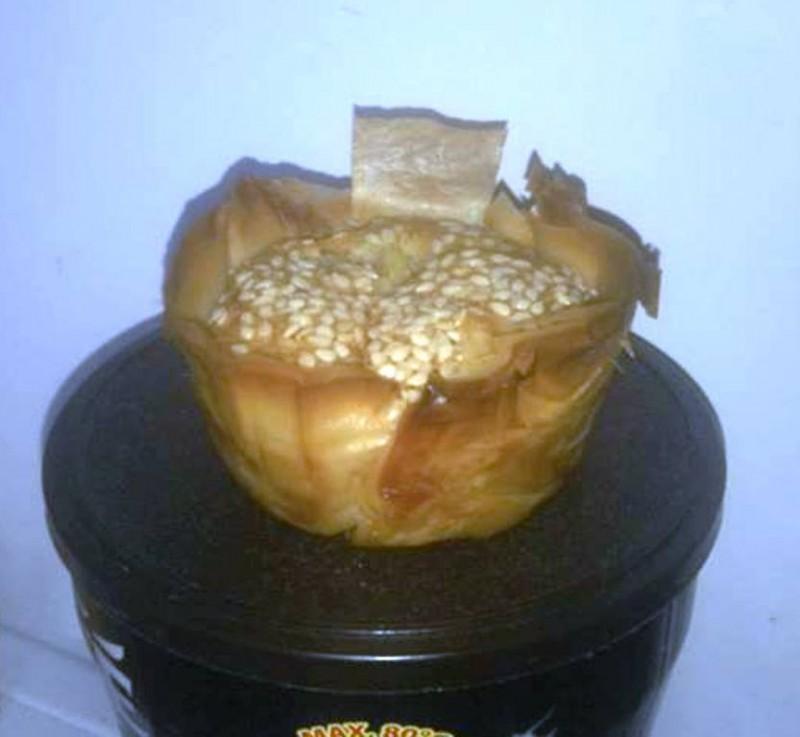 Мафини со ориз од готови кори