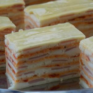 Солена торта со розен кори