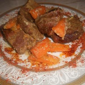 Динстано телешко месо на едноставен начин
