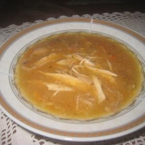 Каша од пилешко месо