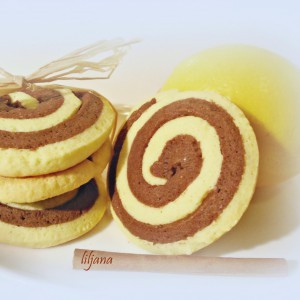Двобојни дански кекси