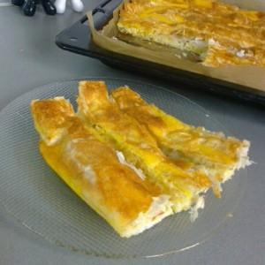 Две комбинации на пита од готови кори
