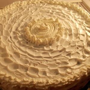 Непечена бајадера торта со крем