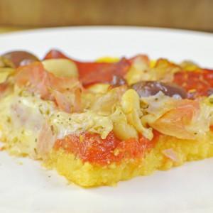 Видео рецепт: Пица Капричиоза со тесто од Палента