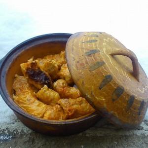 Посна сарма со  ориз и туна