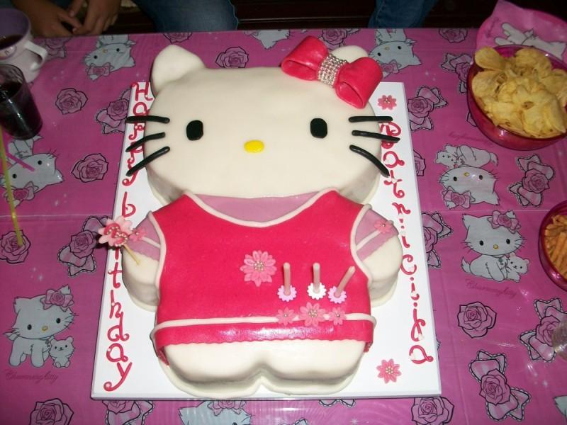 Хелоу Кити Торта