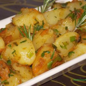 Прилог од компири и праз