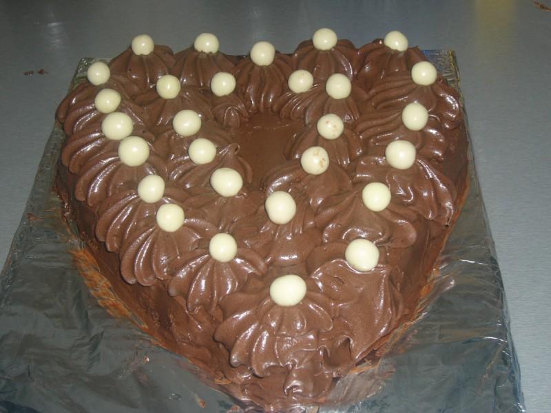 Чоколадно срце