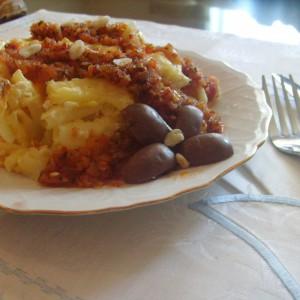 Едноставни потпечени макарони